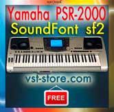 Yamaha PSR-2000 SoundFont SF2 - norCtrack | Virtual Instruments
