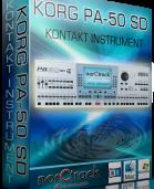 KORG PA-50 SD Kontakt Instrument