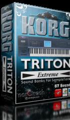 Korg Triton Extreme SampleTank Banks