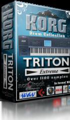 Korg Triton Extreme WAV DRUM COLLECTION