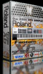 Roland Fantom X WAV DRUM COLLECTION