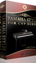 Yamaha Styles for Clavinova CVP Series 220.000 Style Pack