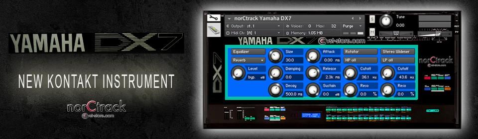 Yamaha DX7 Kontakt Instrument