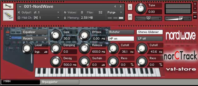 Clavia Nord Wave NKI Complete