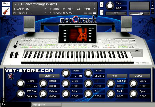 TYROS2 VST - norCtrack | Virtual Instruments