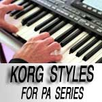 Styles For Korg PA
