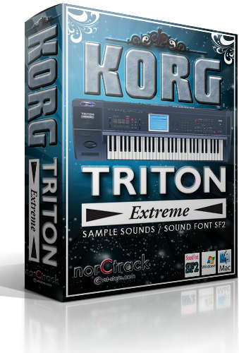 norCtrack Korg Triton Extreme SoundFont SF2