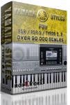 Yamaha Tyros and PSR Styles