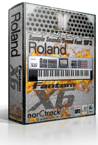 norCtrack Roland Fantom SoundFont SF2