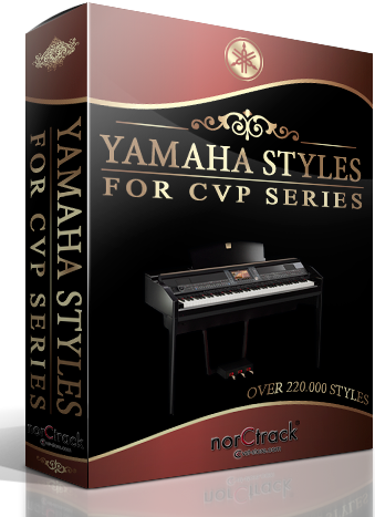 Yamaha Styles for Clavinova CVP Series 220 000 Style Pack